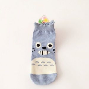Blue Totoro Socks - NEW